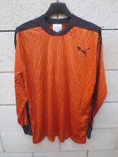 Maillot PUMA vintage porté n°10 orange trikot shirt maglia jersey camiseta 4x5