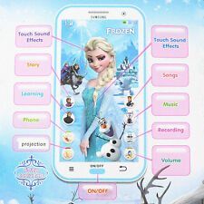 Frozen Figures Educational Learning Mobile Phone Kids Children Baby Toy