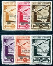 SAN MARINO 1943 303-308 ** POSTFRISCH TADELLOS FLUGPOST (I4061