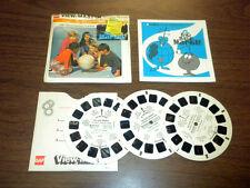 BIG BLUE MARBLE - CHILDREN'S TV (B587) Viewmaster 3 reels PACKET SET vintage