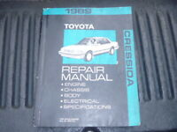OEM GENUINE 1989 Toyota Cressida Factory Service Shop Repair Manual RM117U