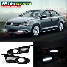 LED Daytime Running Light For VW Sagitar Jetta MK6 DRL 2011 2012 2013 11 12 13