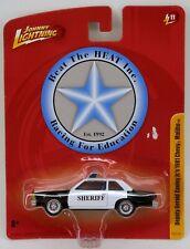 Johnny Lightning 1981 Chevrolet Malibu 2-Door Police Car '81 Chevy 1/64 Scale
