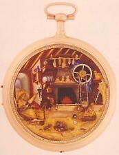 Taschenuhr Goldemaille Automat mit Viertelrepetition, Genf um 1810