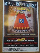 Sparklehorse - Glasgow/Edinburgh oct.2006 tour concert gig poster