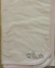 NWT Gymboree For Doggy Grooming Pink White Blanket Reversible NEW