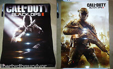 CALL OF DUTY BLACK OPS II COD BLACK OPS 2 RARE PROMO DOUBLE SIDED GLOSS POSTER