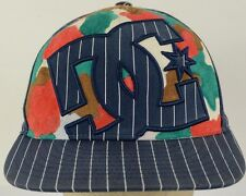 DC Shoe Co Striped Baseball Hat Cap with Fitted Band Size 6 7/8 - 7 1/4 FlexFit