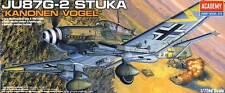 Academy Junkers Ju-87G-2 STUKA Kanonen-Vogel Rudel 1:72 87 G G2 Bausatz kit NEU