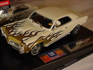 Carrera Pontiac GTO Custom White 'Flames' 27273 MB 1/32 scale slot car