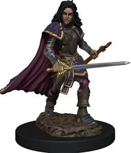 Adventurers Pathfinder Battles: Human Bard Female - Premium Painted Figure