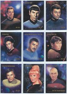 1993 Skybox Star Trek Master Series Base Card You Pick the Card Finish Your Set
