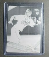 Dansby Swanson 1/1 2017 Topps Chrome RC Printing Plate Black One Of One! Braves