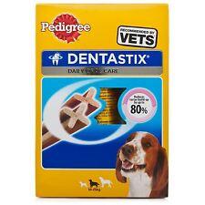 Dentastix Dental Chews Pedigree Medium Dog Treat 70 Sticks (pack of 10x7 Sticks)