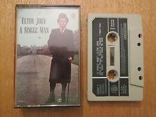 Elton John – A Single Man  - 1st Press UK  Rocket  Cassette 1978 with Insert