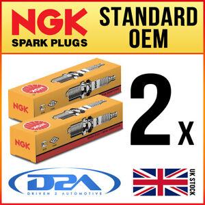 2x NGK DCPR7E Standard Spark Plugs For HARLEY DAVIDSON Screamin' Eagle 06/06>