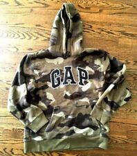 Gap boys XXL 14-16 Fleece Logo Camo Hoodie Sweatshirt camoflage