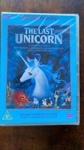 The Last Unicorn DVD 1982 Cult Children's Animated Fantasy Movie BNIB