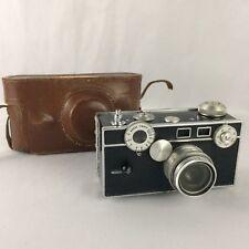 Vintage Argus C3 The Brick 35mm Film Camera With Case 50mm f-3.5 Lens Cintar USA