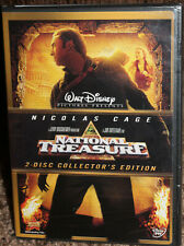NEW walt disney NATIONAL TREASURE 2-disc DVD widescreen COLLECTOR'S EDITION cage