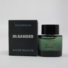 BACKGROUND by Jil Sander 4 ml/ 0.13 oz Eau de Toilette Splash Mini NIB