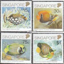 Benin 978-983 Mint Never Hinged Mnh 1997 Marine Fish Stamps