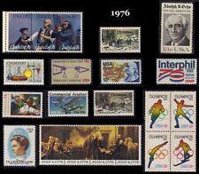 RJames: 1976 Commemorative Year Set, MNH, F-VF