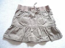 Jupe NKY  5 Ans taupe clair taille élastique 100% coton