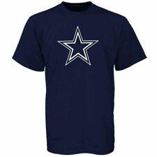 New Dallas Cowboys NFL Football Premier Logo T-Shirt Navy Blue Youth Boys Large