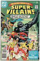 Secret Society Of Super-Villains 8 DC 1977 VF Flash Trickster Grodd