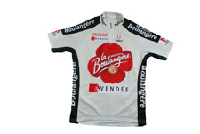 Maillot cyclisme vintage Nalini Time Vendée Brioches La boulangère