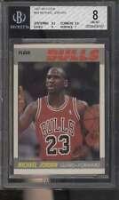 1987 Fleer #59 Michael Jordan HOF  BVG 8 NMMT 67653