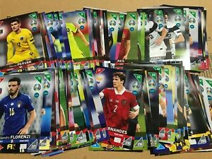 Adrenalyn XL UEFA Euro 2020 2021 Kick off Cards BASE Football BUY 4 GET 10 FREE