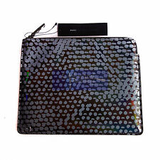 MARC By MARC JACOBS New Techno Lynne Print Tablet Zip Case Gun Metal Multi BNWT