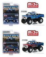 1/64 Bigfoot #1 The Original Monster Truck 1974 Ford F-250 Greenlight Die-Cast