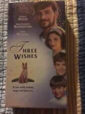 Three Wishes VHS Patrick Swayze  New Sealed