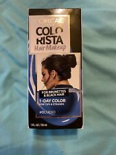 L'Oreal Paris Hair Color Colorista Makeup 1-day for Brunettes Blue 60, 1 fl oz