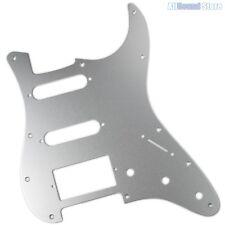 SILVER ANODIZED ALUMINUM Pickguard for Fender® HSS Stratocaster® Strat® USA MIM