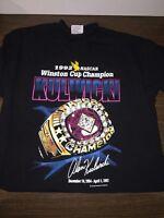 NASCAR 1992 Winston Cup Champion Alan Kulwicki Adult Size L T-Shirt