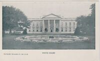 Vintage Washington DC White House Private Mailing Card Postcard c1900 *Free Ship