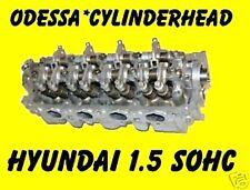 FITS HYUNDAI ACCENT SCOUPE 1.5 SOHC 12 VALVE CYLINDER HEAD 95-02 REBUILT
