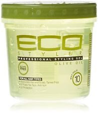 ECO STYLER MAXIMUM HOLD ALCOHOL FREE Olive Oil STYLING GEL 355ML