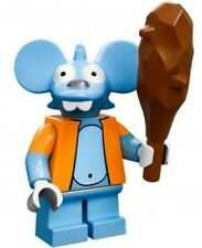 The Simpsons Lego collectible minifig Itchy (mouse)  - suit city / house set