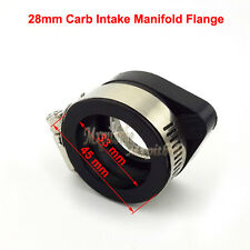 Pit Bike Carb Intake Adapter Boot Rubber Pipe Flange For Motorcycle Atv Pit Bike