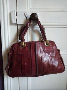 Authentique sac Chloé _ Modèle Héloïse Authentique sac à main Chloé cuir