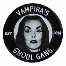 Kreepsville 666 Vampira Ghoul Gang Halloween Horror Spooky Iron On Patch PVGG