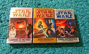 Star Wars: The Jedi Academy Trilogy Books Lot 1-3 (Paperback)