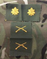 New Old Stock Vintage US Army Infantry Major Rank And Branch Of Service