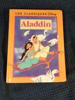 Alladin I Classici Walt Disney Edizioni Francia Loisirs 1988 Antico Vintage