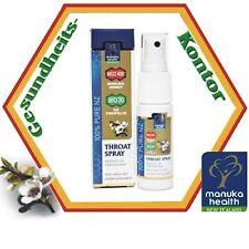Manuka Health Mund & Rachenspray, 30ml Pumpflasche MGO400 Manukahonig Propolis .